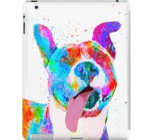 Pit Bull Terrier Pop Art Pet Portrait iPad Case/Skin