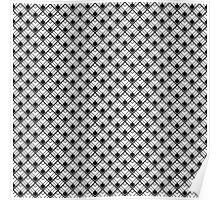 Geometric Scales Pattern Poster
