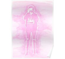 Harry Styles Pink  Poster