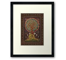 Under The Great Tree Framed Print