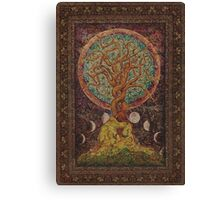 Under The Great Tree Canvas Print