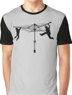 Merry Go Hills Hoist Graphic T-Shirt