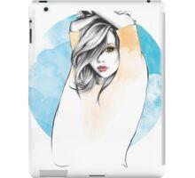 Cancer Zodiac Fashion Illustration iPad Case/Skin