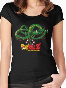 Summon The Green Dragon! Women's Fitted Scoop T-Shirt