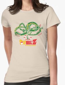 Summon The Green Dragon! Womens Fitted T-Shirt