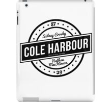 Cole Harbour Black  iPad Case/Skin