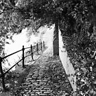Cobbled Path, Manchester by RedPulse07