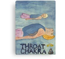 Fish The Throat Chakra Canvas Print