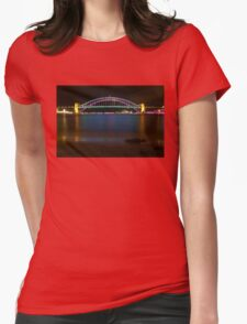 Vivid Bridge 8 Womens Fitted T-Shirt