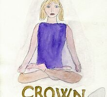 The Lotus Pose The Crown Chakra by caraemoore