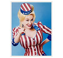 Dolly Parton Want You Photographic Print