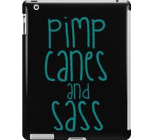 Chiltons Pimp Canes and Sass iPad Case/Skin