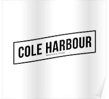 Cole Harbour White Poster