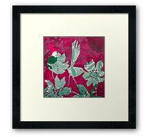 Hot Pink Paradise Framed Print