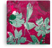 Hot Pink Paradise Canvas Print