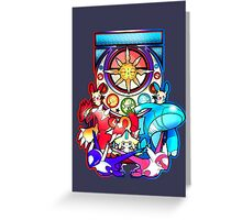 Ruby and Sapphire Greeting Card