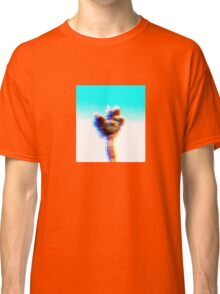 Walking with moon (colors edited per request) Classic T-Shirt