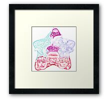 Gems!  Call Your Weapon! Framed Print