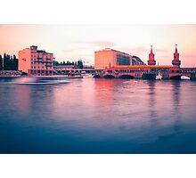 Oberbaum Bridge Photographic Print
