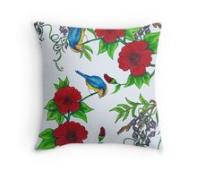 Harmony in spring Throw Pillow