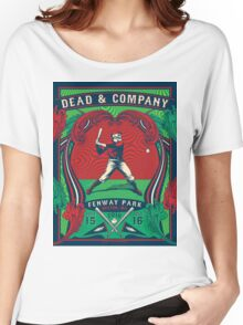 DEAD AND COMPANY SUMMER TOUR 2016 FENWAY PARK-BOSTON,MA Women's Relaxed Fit T-Shirt