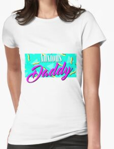 Anxious Daddy Womens Fitted T-Shirt