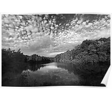 Durand Lake Reflected Light Poster