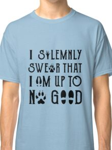 I Solemnly Swear Geeky Marauder Quote Fun Classic T-Shirt