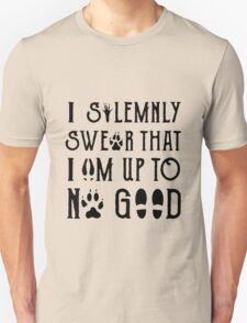 I Solemnly Swear Geeky Marauder Quote Fun Unisex T-Shirt