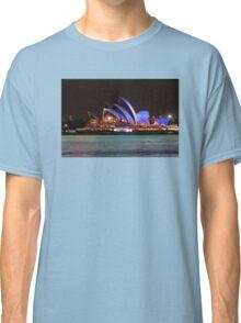 Green water, blue sails Classic T-Shirt