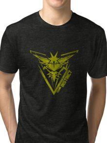 yellow team INSTINCT Tri-blend T-Shirt