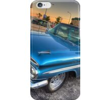 1959 El Camino in Blue iPhone Case/Skin