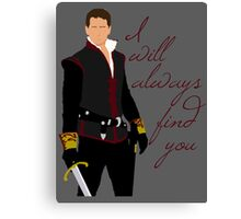 Ever Charming, My Prince Canvas Print