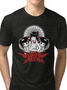 Baby Metal Cartoon Tri-blend T-Shirt
