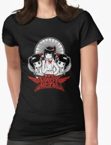 Baby Metal Cartoon Womens Fitted T-Shirt