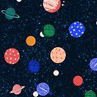 Cosmic Planets by Andrea Lauren by Andrea Lauren