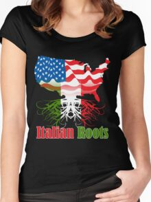 Italian Roots Women's Fitted Scoop T-Shirt