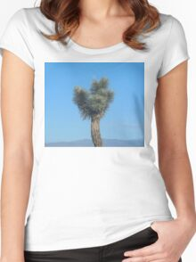 moon & young joshua tree Women's Fitted Scoop T-Shirt