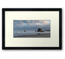 Morning Glory - Cannon Beach, Oregon Framed Print
