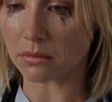 Elliot Reid Scrubs Cries Sticker