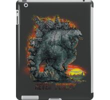 Never Forget Stego Sore Us iPad Case/Skin