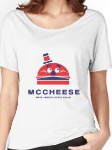 MCCHEESE FOR PRESIDENT 2016 Women's Relaxed Fit T-Shirt