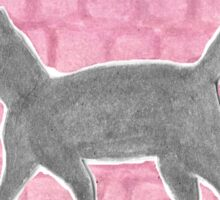 JMU Quad Cat Sticker