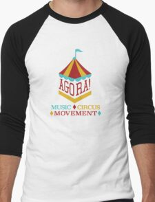Agora Arts 1 Men's Baseball ¾ T-Shirt