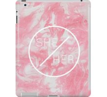 she/her iPad Case/Skin