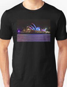 Cloudy Blue Sails Unisex T-Shirt