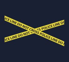 POLICE LINE DO NOT CROSS Kids Tee