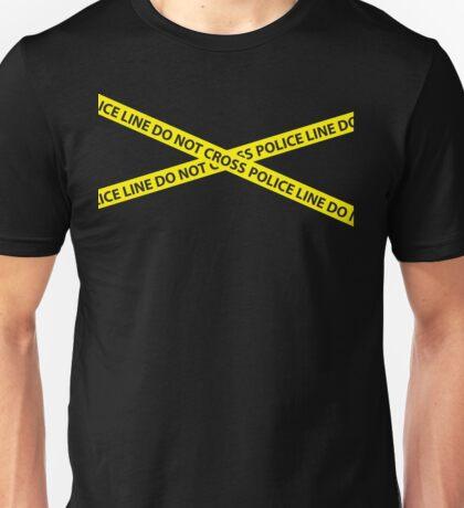 POLICE LINE DO NOT CROSS Unisex T-Shirt