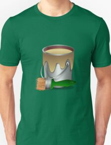 Paint bucket and Brush Unisex T-Shirt