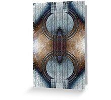 abstract guitar Greeting Card